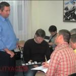Александр Литягин отвечает на вопросы участников